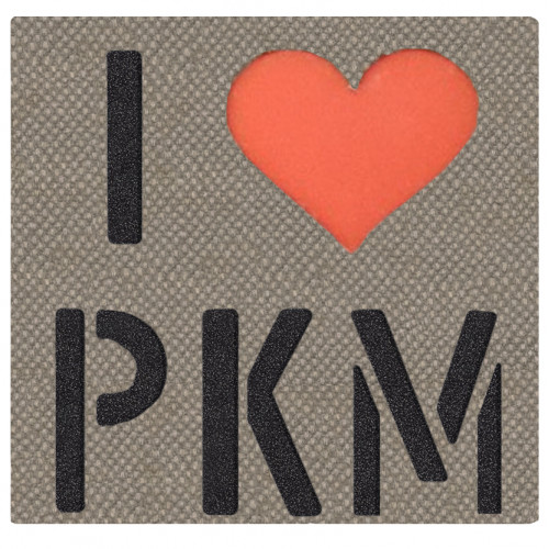 """Call Sign Patch """"I Love PKM/SVD"""""""