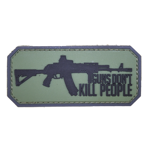 "Шеврон ""Guns Dont Kill People"""